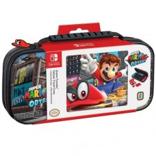 Deluxe Travel Case Mario Odyssey Black + Card Case Bundle
