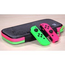 Switch Carrying Case Splatoon + Tempered Glass 9H