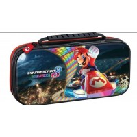 Deluxe Travel Case Mario Kart Black + Card Case Bundle