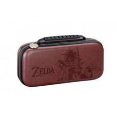 Deluxe Travel Case Zelda Brown + Card Case Bundle