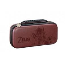 Deluxe Travel Case Zelda Brown + Card Case Bundle