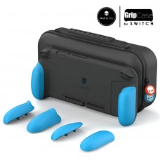 Switch Skull&Co MaxCarry Grip Case Neon Blue