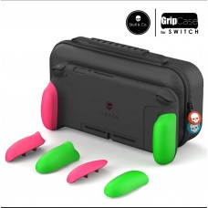 Switch Skull&Co MaxCarry Grip Case Pink & Green