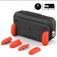 Switch Skull&Co MaxCarry Grip Case Neon Red
