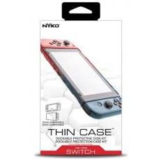 Switch Thin Case Neon (NYKO) + Tempered 9H Screen Guard