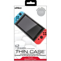 Switch Thin Case Clear (NYKO) + Tempered 9H Screen Guard