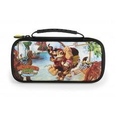 Deluxe Travel Case Donkey Kong Freeze + Card Case Bundle