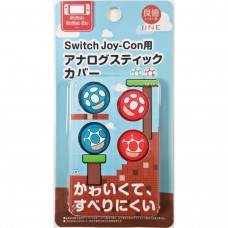 Switch Thumb Grip TOAD Blue/Red