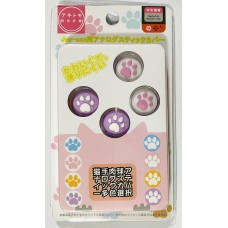 Switch V2/Lite Miu-Miu Thumb Grip Purple White