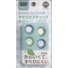 Switch Animal Crossing Thumb Grip Pastel-Leaf
