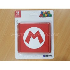 """Switch Card Case Mario Red """"M"""""""