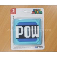 "Switch Card Case Mario Blue ""POW"""