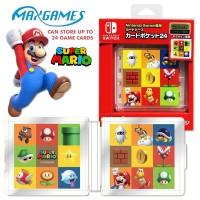 Deluxe Card Case 24 Mario MaxGames Jap    (M1616)