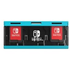 HORI Push Card Case 6 Neon Blue