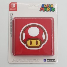 Switch Card Case Red Toad Silikon