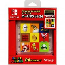 Deluxe Card Case 24 Mario MaxGames Jap
