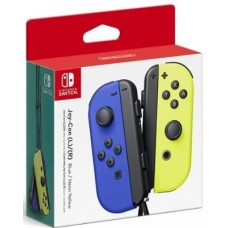 Switch Joycon Left + Right Controller Neon Blue / Neon Yellow