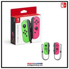 Switch Joycon Left+Right (Green&Pink) SplatOOn