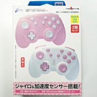 Switch/Lite Mini Wireless Controller (Cyber) Pink&White