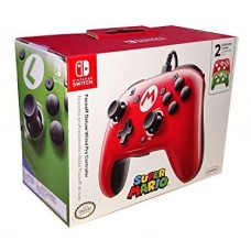 Switch Wired PRO Controller Mario&Luigi Edition