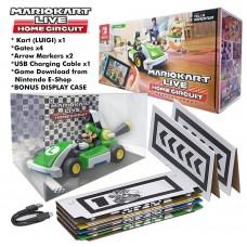 Luigi Version Mario Kart Live Home Circuit +Box Display