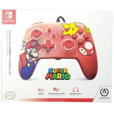 Switch Wired Controller Mario Vintage (PowerA)
