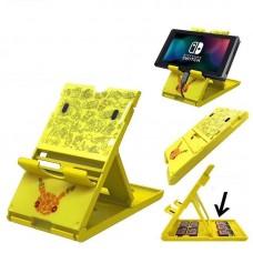 Switch Playstand +Card Storage PIKACHU  (M1616)
