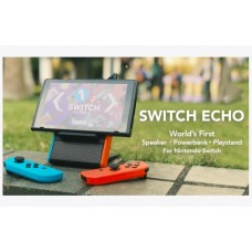 Switch ECHO Speaker, Power Bank & Kick Stand Red/Blue