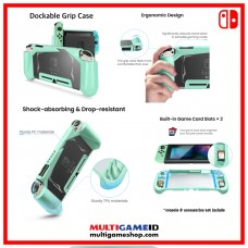 Switch Dockable Grip Case Green (TomToc)