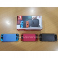 Nintendo Switch Neon Red/Blue (HAC-001) +Leather Case