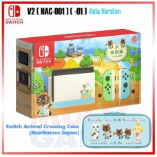 Nintendo Switch V2 (Generation 2) Animal Crossing Limited +Case Animal