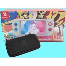 Switch Lite Zacian & Zamazenta Pokemon Edition +Tough Case HORI