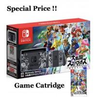 Nintendo Switch Super Smash Bros Edition +Game Catridge