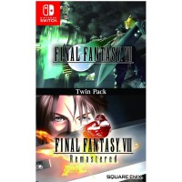 Final Fantasy 7 & 8 Remastered Twin Pack