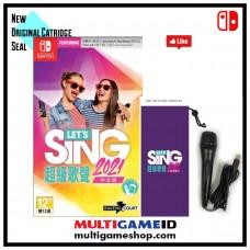 —PO/DP— Lets Sing 2021 +Mic 1 pcs (Nov 13, 2020)