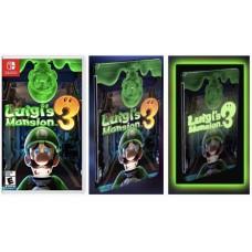 Luigi Mansion 3 +Glow in the Dark Steelcase (no seal)
