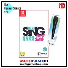 —PO/DP— Let's Sing 2022 +1Mic (Nov 23, 2021)