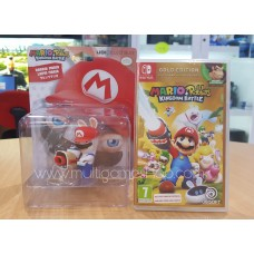 Mario + Rabbids Kingdom Battle Gold Edition + Mario Character 3""