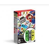 Super Mario Party +  Joycon Green/Yellow Bundle (Black Strap)