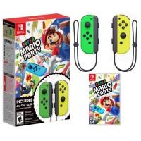 Super Mario Party +  Joycon Green/Yellow Bundle