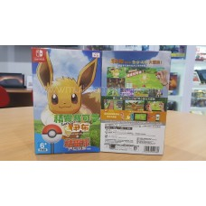 Pokemon Lets Go Eevee + Pokeball Bundle