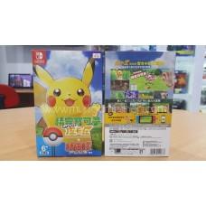 Pokemon Lets Go Pikachu + Pokeball Bundle