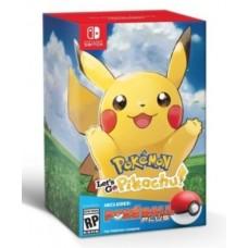 —PO/DP— Pokemon Lets Go Pikachu + Pokeball (Nov 16, 2018)