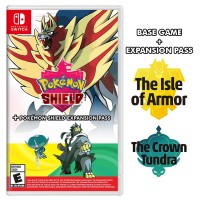 Pokemon Shield +Expansion The Isle of Armor +Expansion The Crown Tundra