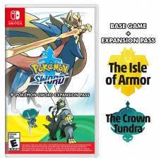 Pokemon Sword +Expansion The Isle of Armor +Expansion The Crown Tundra