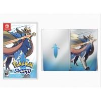 —PO2– Pokemon Sword + Steelbook