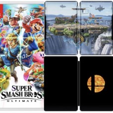 Super Smash Bros Ultimate Steelbook