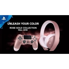 —PO— New Playstation Gold Wireless Headset (Rose Gold) DOLBY 7.1 V2 (Oct 25, 2019)