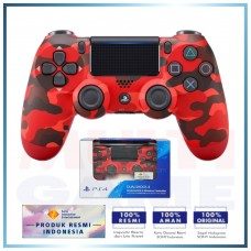 (Official) New DualShock 4 CUH-ZCT2G (Red Camouflage) Limited