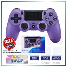 (Official) New DualShock 4 CUH-ZCT2G (Electric Purple) Limited +Sticker Miu-Miu R/L